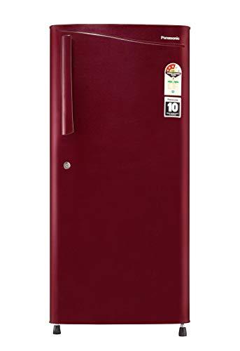 Panasonic 194 L 3 Star Inverter Direct-Cool Single Door Refrigerator (NR-A193VMX1, Maroon Hairline)
