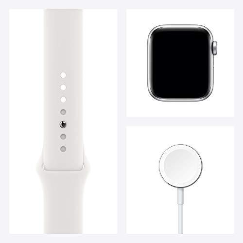 Apple Watch SE 40 mm aluminio dorado correa deportiva rosa arena
