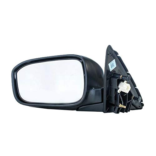 Dependable Direct Left Driver Side Unpainted Non-Heated Manual Folding Power Operated Door Mirror for US/Mexico Built Honda Accord Sedan (2003 2004 2005 2006 2007) HO1320152 76200-SDA-A11