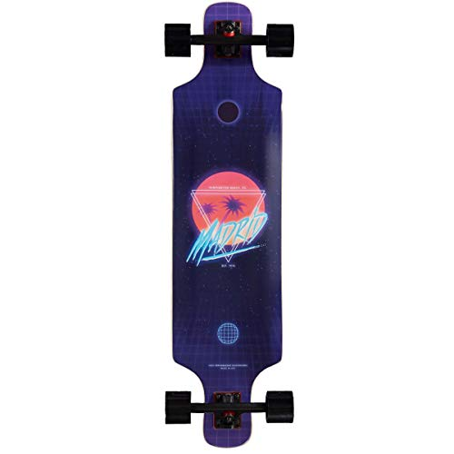 Madrid DTF Top Mount Longboard Complete - Future Paradise