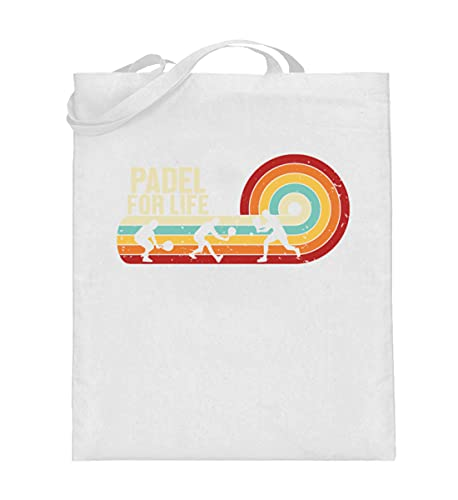 Generisch Padel Padel-Tennis Paddle Tennis Jutebeutel | Padel for Life Baumwolltasche
