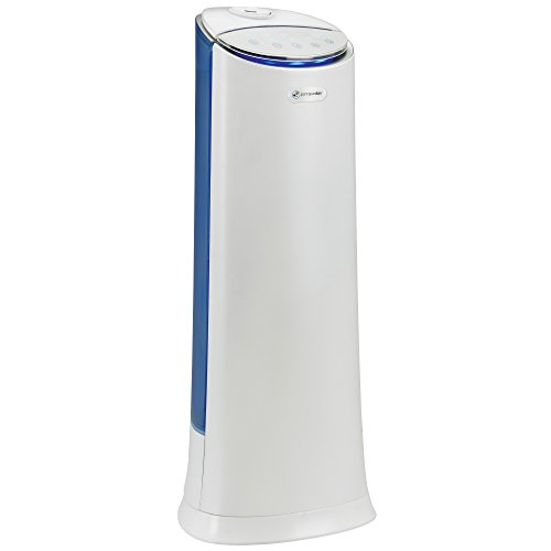 PureGuardian 7.4L Output per Day Ultrasonic Warm and Cool Mist Humidifier Tower with Aroma Tray for Essential Oils, 100-Hour Personal Humidifier, 1.5 Gallon Room Humidifier, Pure Guardian H3250WCA