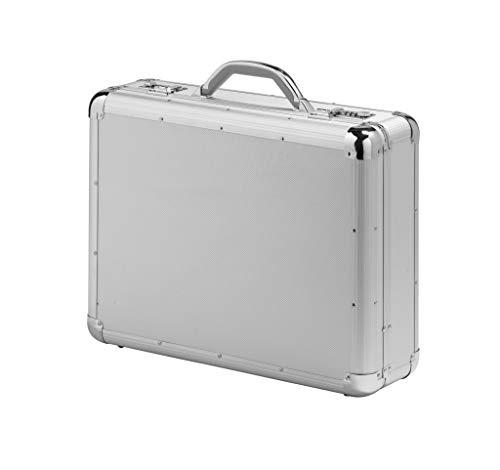 Falcon FI2992 Executive aktetas, aluminium, duurzaam, groot, aluminium, Ø, zilver