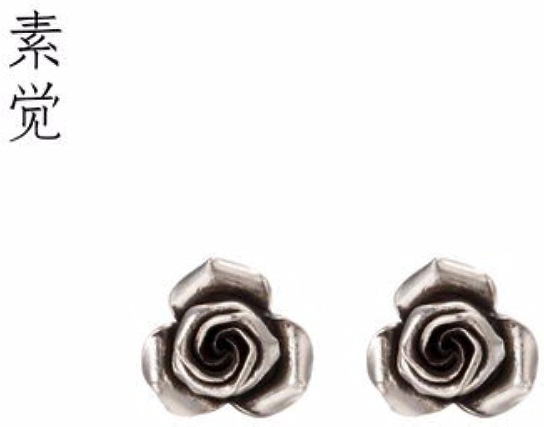 BAGEHAN Ms 925 silver Ohrringe handgefertigt silver Ohrringe Schmuck Geschenk handgemachte pink Ohrringe