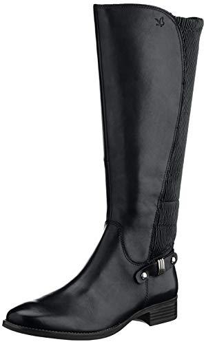 CAPRICE Damen Belen Hohe Stiefel, Schwarz (Black Comb 19), 38 EU