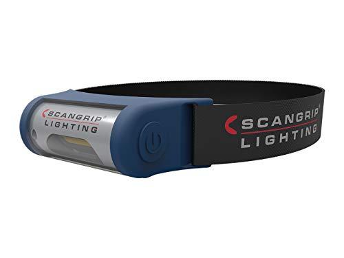 Scanprip 815026 Linterna Frontal de Trabajo I-View 3W COB LED, 105x52x43 mm