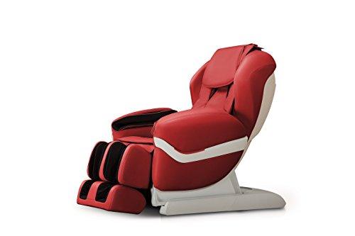 Trade-Line-Partner massagestoel stijl voor uw welzijn - Bordeaux-rood - medische televisiestoel en massagestoel de luxe uitvoering voor absolute ontspanning.