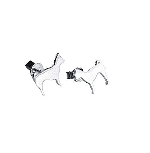 Pendientes de plata de ley Chihuahua por MYLEE London ML007-STE