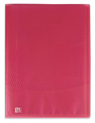OXFORD Protège-Documents Osmose A4 40 vues / 20 pochettes Couverture Polypro Rose