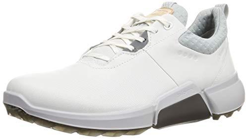 ECCO Herren Biom H4 Golfschuh, White Concrete, 44 EU