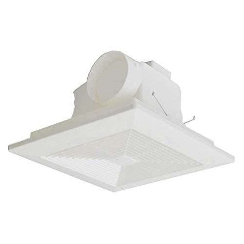 SMM Ventilatori da Bagno Ventilatori di Scarico a soffitto Ventilatori di Scarico Fan Fan Fan Famiglia for la casa 12 Pollici for la Cucina