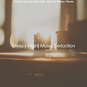 Festive Harp duo with Koto - Bgm for Sleepy Waves