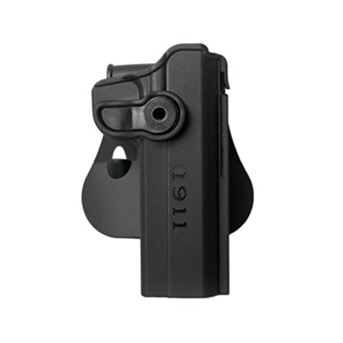 IMI Defense Conceal Carry Retention Polymer Tactical Holster 1911 Variants With & Without Rails Handgun