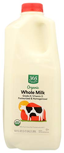 365 by Whole Foods Market, Organic Grade A Milk, Whole, 64 Fl Oz