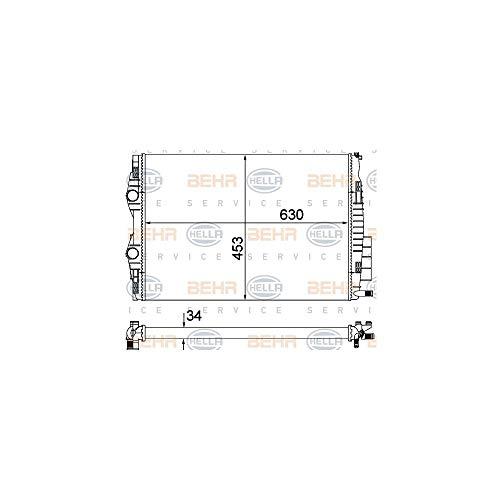 Hella 8 MK 376 700–405 refroidissement