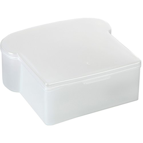 HOME-X Plastic Food Storage Container for Lunch, Reusable Sandwich Box for Meal Prep