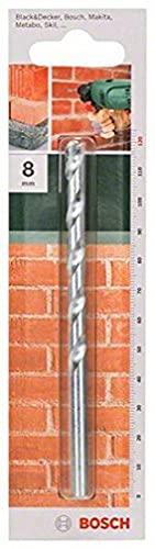 Bosch 2 609 255 434 - Broca para piedra según la norma ISO 5468, (Ø 8 mm), longitud 120 mm