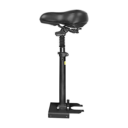 Aibabely Sillín de asiento eléctrico, asiento de scooter ajustable, absorción de golpes, plegable, compatible con Scooter eléctrico Pro/Pro2