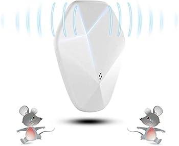 XYL Ultrasons répulsif insecticides Rats d'entraînement à ultrasons Blancs pièges à moustiques répulsifs artéfact électronique Domestique Souris Anti-rongeurs