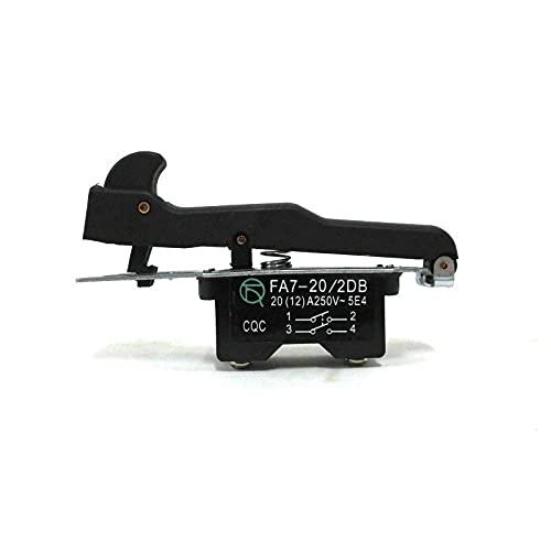 SDUIXCV Reemplazo del Interruptor de gatillo para Hitachi G18SE2 180 Piezas de Repuesto de Amoladora de ángulo Grande Grande