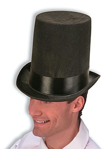 Forum Novelties Lincoln Stove Pipe Hat, Black
