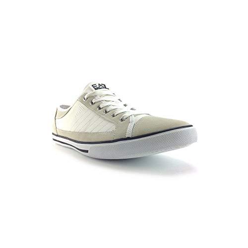 EA7 Armani, Herren Sneaker Grau grau, Grau - grau - Größe: 45 EU