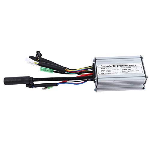 Surebuy El Controlador Reduce el Controlador de Temperatura-Aumento de 6 Tubos 17A, para Scooter eléctrico para Motor de 36 V / 48 V 250 W / 350 W