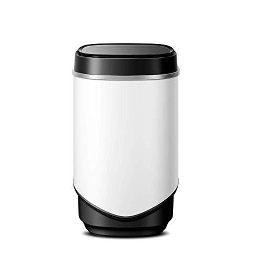 HXCD Lavadora Negra, Mini Lavadora, deshidratador de Ropa semiautomático portátil de una Tina