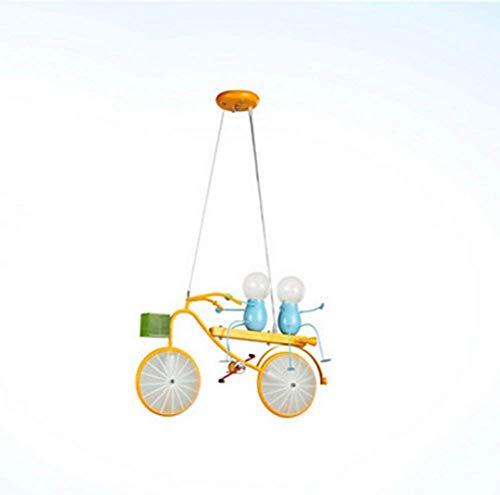 Fietsverlichting voor kinderkamer kunst ijzer kinderen minimalistisch moderne LED lengte 54 × hoogte 65 cm licht decoratie voor huis woonkamer