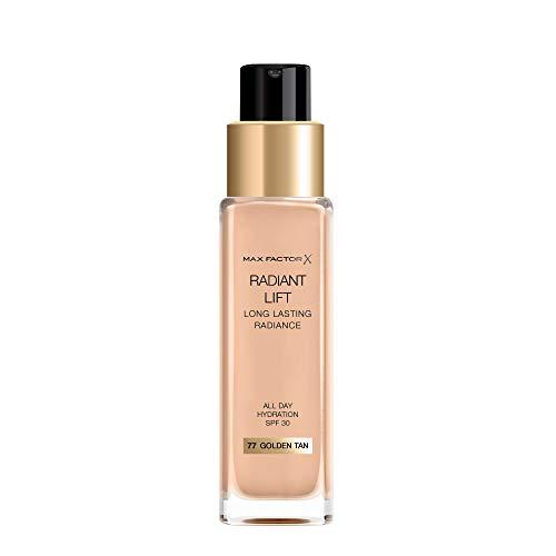 Max Factor, Base de maquillaje (Tono: 77 Golden Tan, Pieles Medias) - 115 ml.