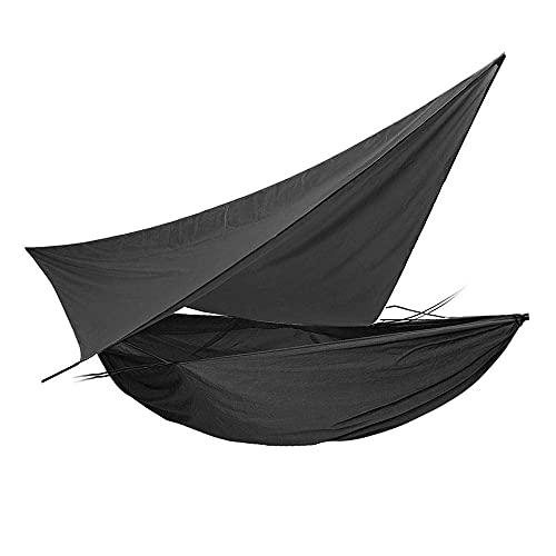 ZJSXIA Hamaca de Camping al Aire Libre Liviana para Acampar al Aire Libre Tienda de Hamaca con toldos a Prueba de Agua Netificación de toldos Set-C Hamaca Colgante (Color : A)
