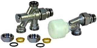 Giacomini - Grifería gas de radiador - Válvula 2 vías R438TG 1/2