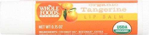 Whole Foods Market, Organic Tangerine Lip Balm, 0.15 oz