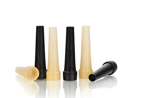 Arabica 100 Shisha Hygiene Sicherheit Mundstücke schwarz und Gold außen Einweg einzeln verpackt