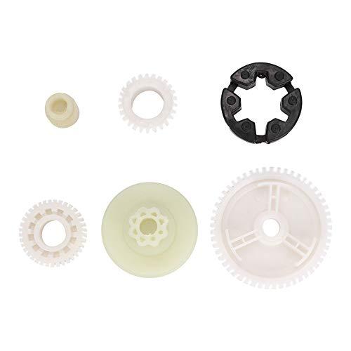 Engranaje del motor de elevaci/ón de la ventana Juego de reemplazo de engranajes del motor de los vidrios de la ventana de 6 piezas