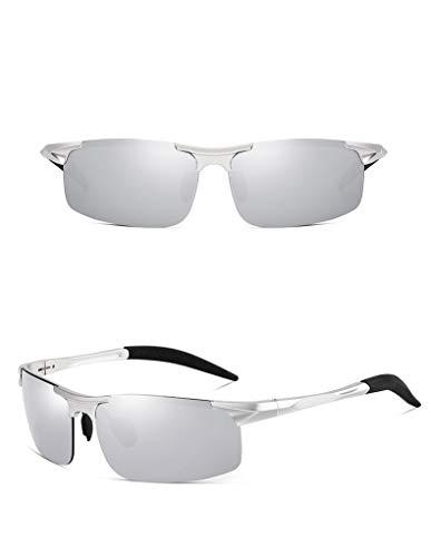 thematys Sonnenbrille für Herren & Damen polarisiert - UV400 Sportsonnenbrille perfekt geeignet für Fahrrad, Motorrad, Angeln, Joggen & Sport allgemein (Style 6)