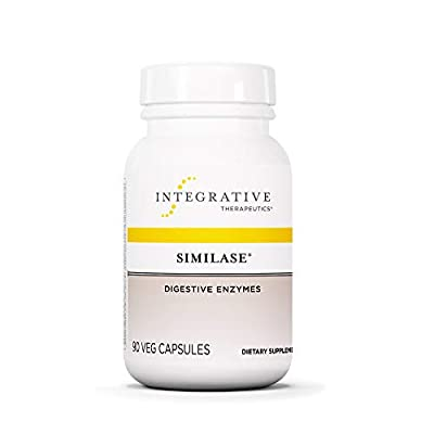 Integrative Therapeutics - Similase - Physician Developed Digestive Enzymes for Women and Men - Relieves Occasional Gas and Bloating - Vegan - 90 Vegetable Capsules