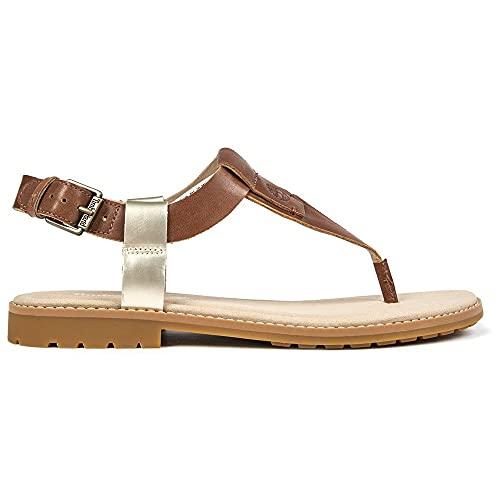 Timberland Chicago Riverside sandalen voor dames, bruin