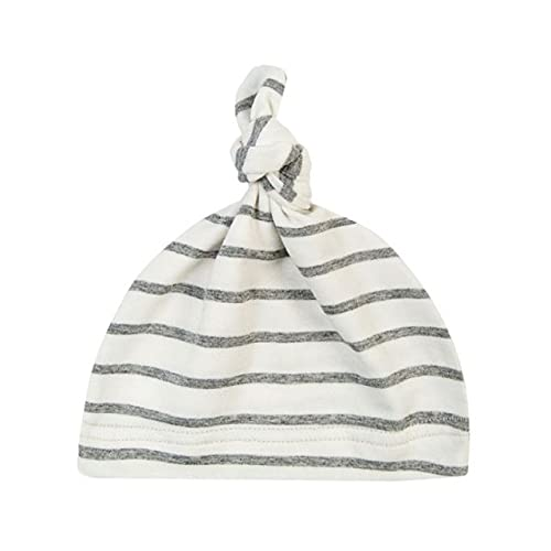 Sombrero de algodón con Nudo de bebé de 16 Colores, Gorros de Primavera otoño para niños pequeños, Gorro de Invierno para niñas, Gorro de Invierno cálido de Color sólido-HW-One Size