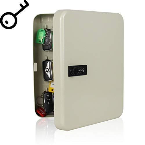 ALXLX Sley Lock Box, magneetsleutel voor aan de muur, met cijferslot, voor thuis, porch, hotels, scholen en bedrijven