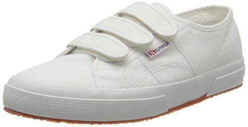 Superga 2750-cot3strapu, Zapatillas de Gimnasia Unisex Adulto, Blanco (White 901), 37.5 EU
