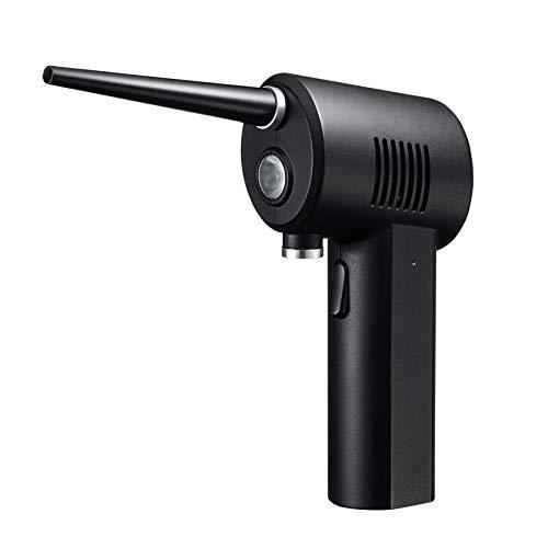 サンワサプライ エアダスター 電動 充電式 LEDライトつき 逆さ噴射可能 CD-ADE1BK