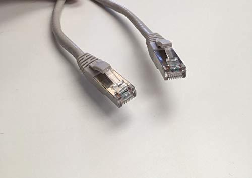 LinteQ - Cable de red Ethernet de categoría 5E, AWG24, CCA, UTP, RJ45 (10 metros, gris) (20 m)