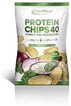 Ironmaxx Protein Chips 40 20 x 50 g Beutel Sour Cream Onion Estimated Price : £ 93,89