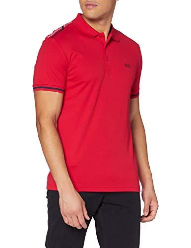 BOSS Herren Paule 2 Polo Shirt, Bright Red (623), L EU