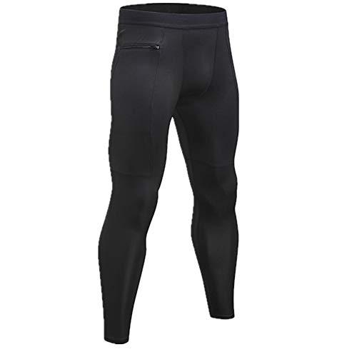 N\P Hombres Pantalones Deportes Gimnasio Pantalones Deportivos Masculino Elástico Fitness Skinny Leggings Pantalones Chándal Deporte