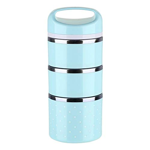 Surobayuusaku Cute Stainless Steel Thermal Lunch Picnic Container Food...