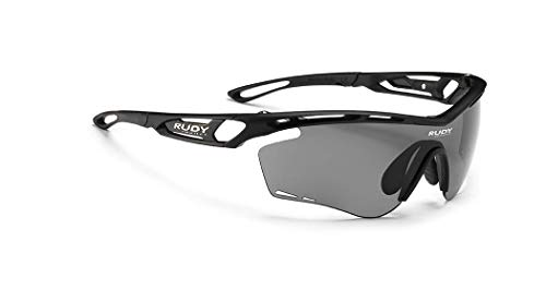 Rudy Project Tralyx Sports Cycling Sunglasses - Matte Black Frame - Polarized 3 FX Grey Laser Lens