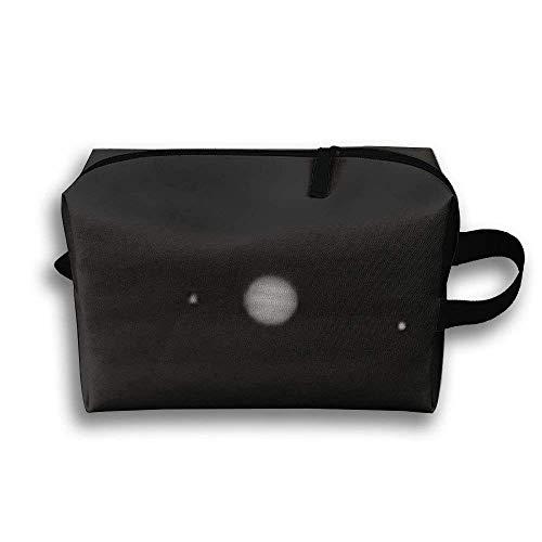 Mond-Raumforschung-Astronomie-tragbare Reise-Kosmetiktasche, Aufbewahrungstasche-tragbare Damen-Reise-Quadrat-Kosmetiktasche