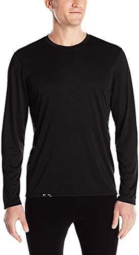 Camiseta Proteção Solar Permanente UV50+ Tecido Gelado – Slim Fitness – Preto G